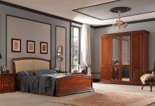 Внутренняя отделка кабинета и спальни
