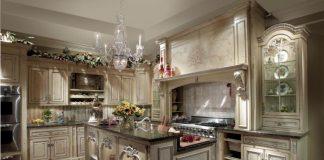 Интерьер традиционной английской кухни