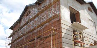 Облицовка фасада здания