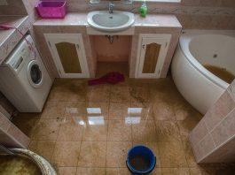 Протечки в ванной комнате или на кухне