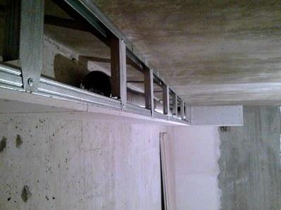 Короб из гипсокартона на потолке и правила крепления гипсокартона на потолке: пошаговая инструкция