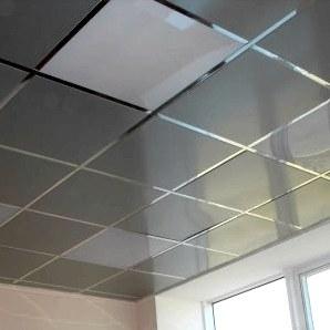 Подвесной кассетный потолок: алюминиевый, албес, cesal