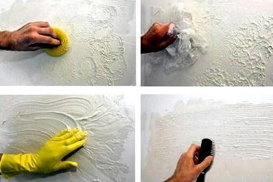 Декоративная штукатурка своими руками: виды декоративной штукатурки, нанесение декоративной штукатурки