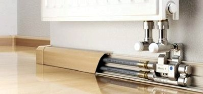 Как спрятать трубы отопления, водоснабжения, канализации в квартире