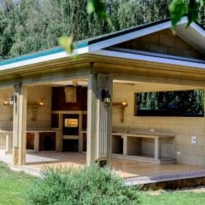 Летняя кухня на даче своими руками: недорогие проекты, материалы
