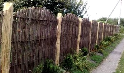 Как сделать плетеный забор своими руками: плетеный забор из лозы ивы – советы по плетению